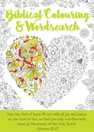Biblical Colouring & Wordsearch Book: Heart image