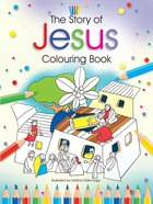 The Story Of Jesus Colouring Book image