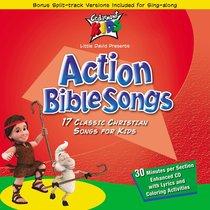 Album Image for Cedarmont Kids: Action Bible Songs - DISC 1