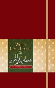 Product: When God Calls The Heart At Christmas: A Keepsake Journal Image