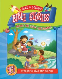 Product: Read & Colour Bible Stories From The New Testament Image