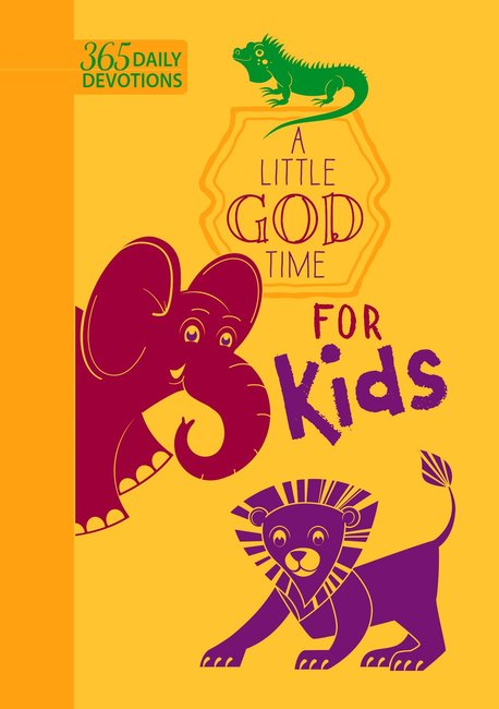 Product: A Little God Time Fot Kids: 365 Daily Devotional Image