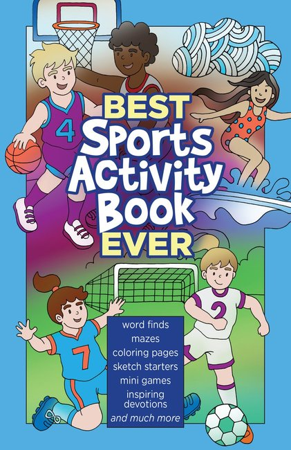 Product: Best Sports Activity Book Ever Image