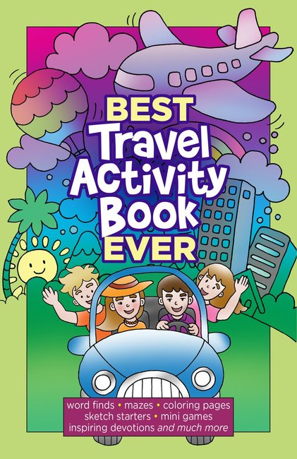 Product: Best Travel Activity Book Ever Image