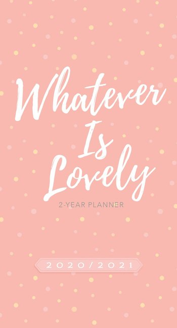 Product: 2020/2021 2 Year Pocket Planner: Whatever Is Lovely Image