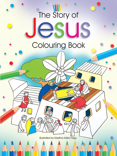 Product: The Story Of Jesus Colouring Book Image