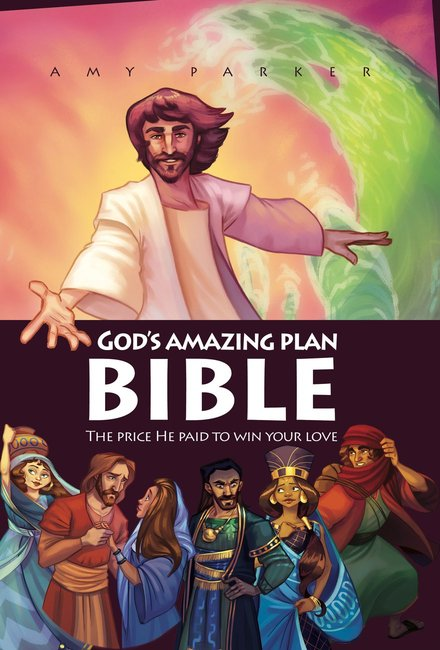 Product: God's Amazing Plan Bible Image