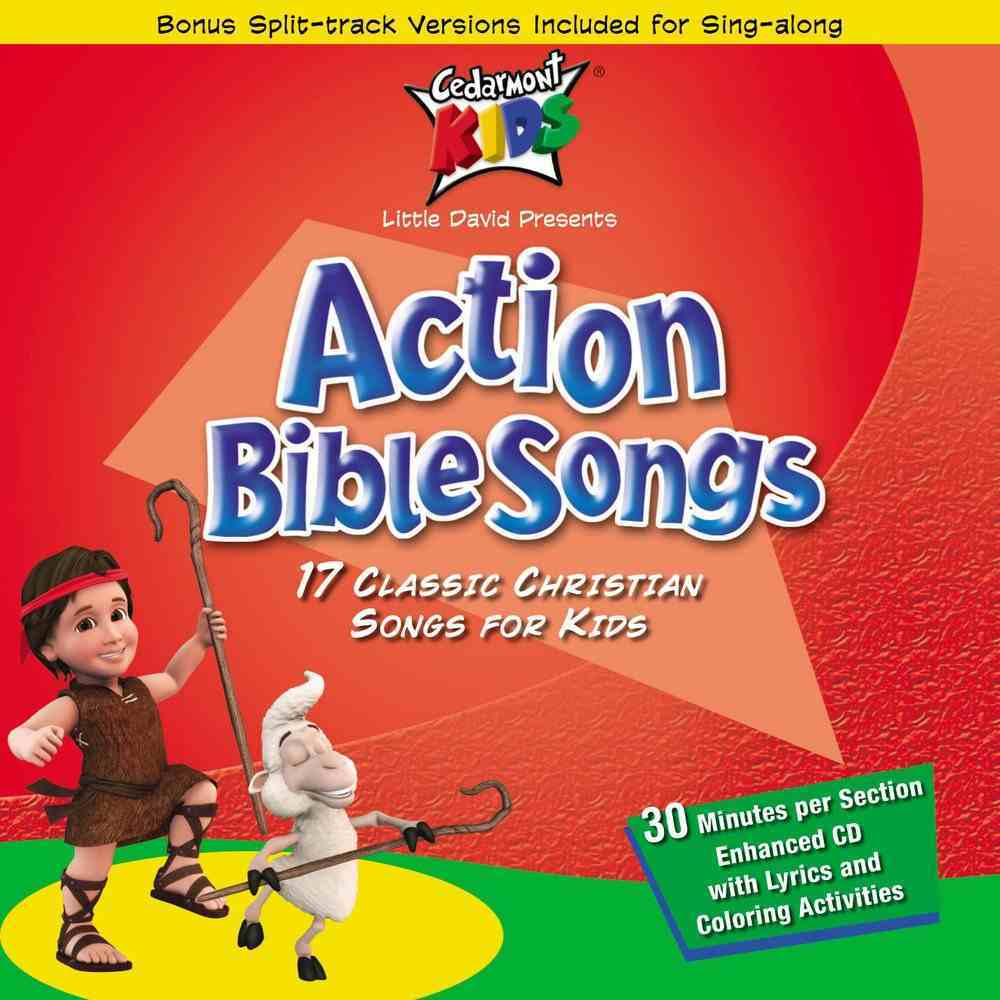 Cedarmont Kids: Action Bible Songs CD