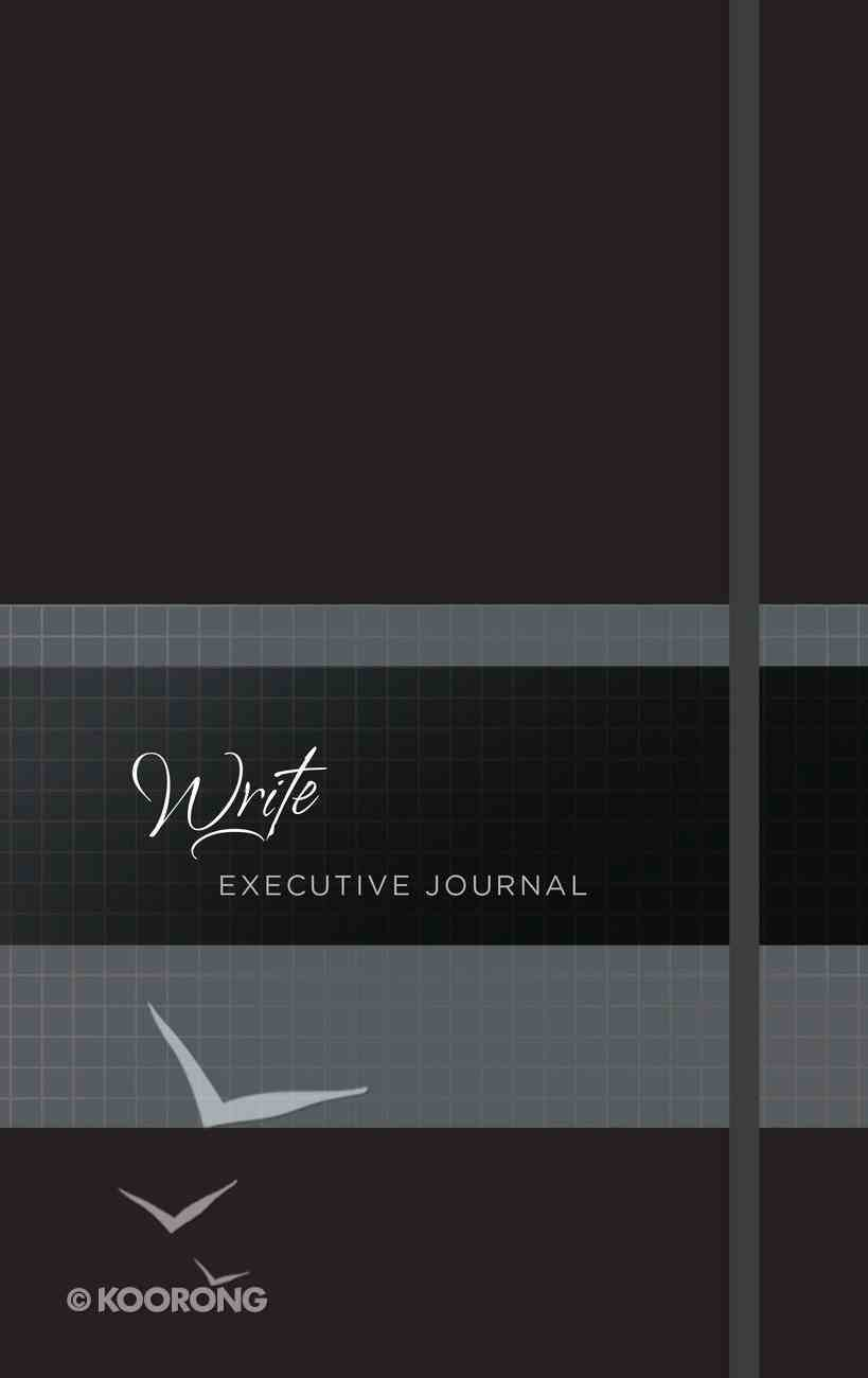 Executive Journal: Write With Elastic Band (Onyx) Imitation Leather