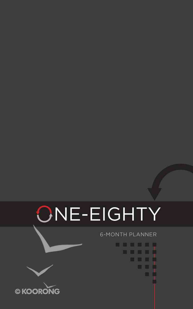 Undated 6 Month Diary/Planner: One-Eighty: Professional Imitation Leather