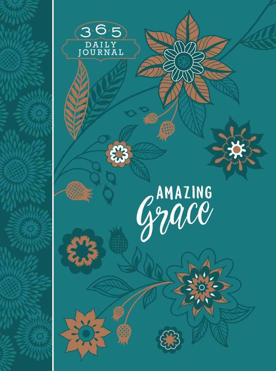 Journal: Amazing Grace (Ziparound) Imitation Leather