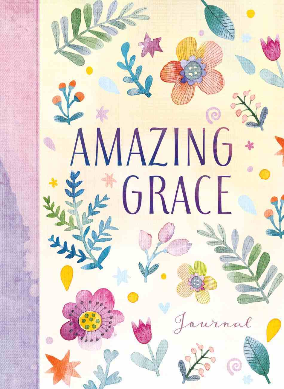 Journal: Amazing Grace, Floral Fabric