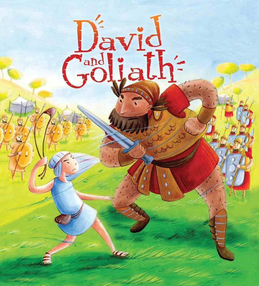 David and Goliath (My First Bible Stories Series) Paperback