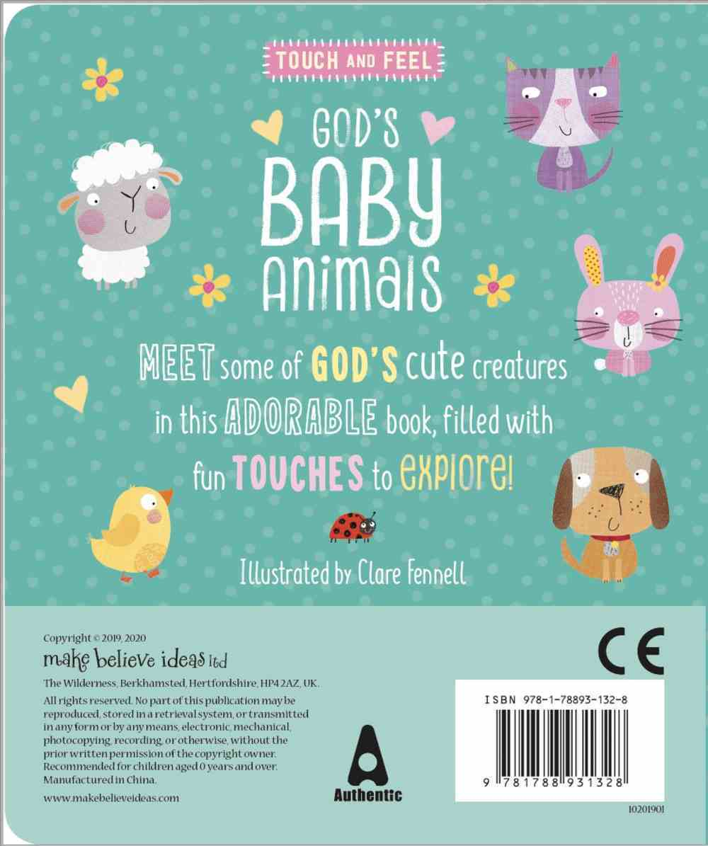 God's Baby Animals Board Book