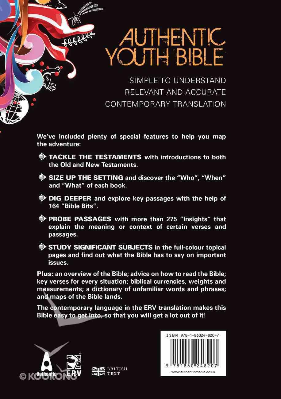 ERV Authentic Youth Bible Black Hardback