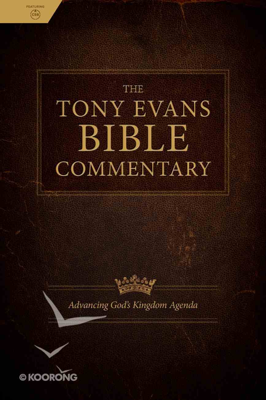 The Tony Evans Bible Commentary Hardback