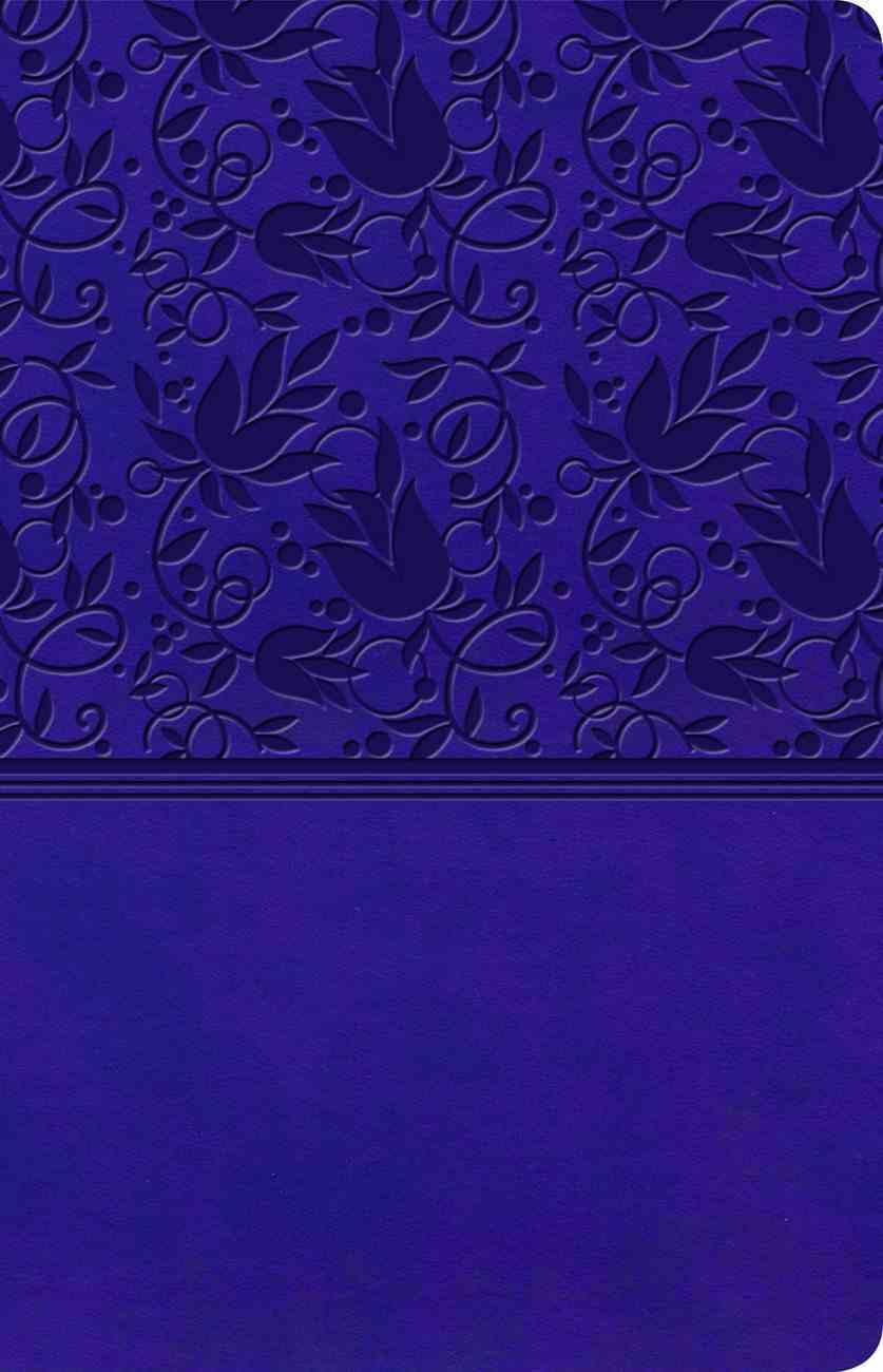 KJV Ultrathin Reference Bible Purple (Red Letter Edition) Imitation Leather