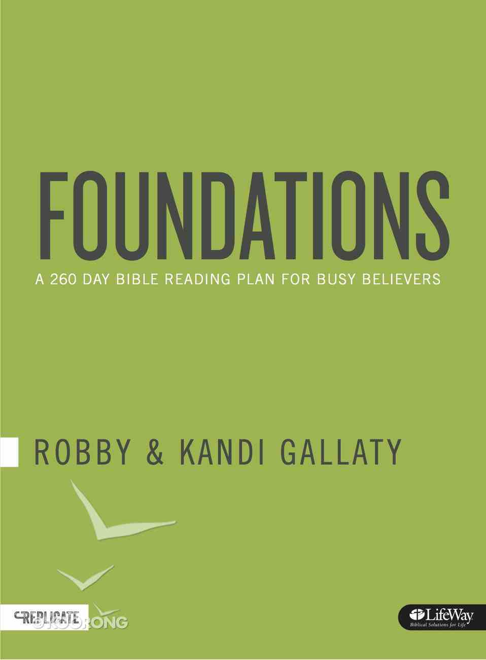 Foundations: A 260-Day Bible Reading Plan For Busy Believers Paperback