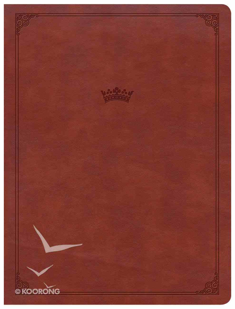 CSB Tony Evans Study Bible British Tan Indexed (Black Letter Edition) Imitation Leather