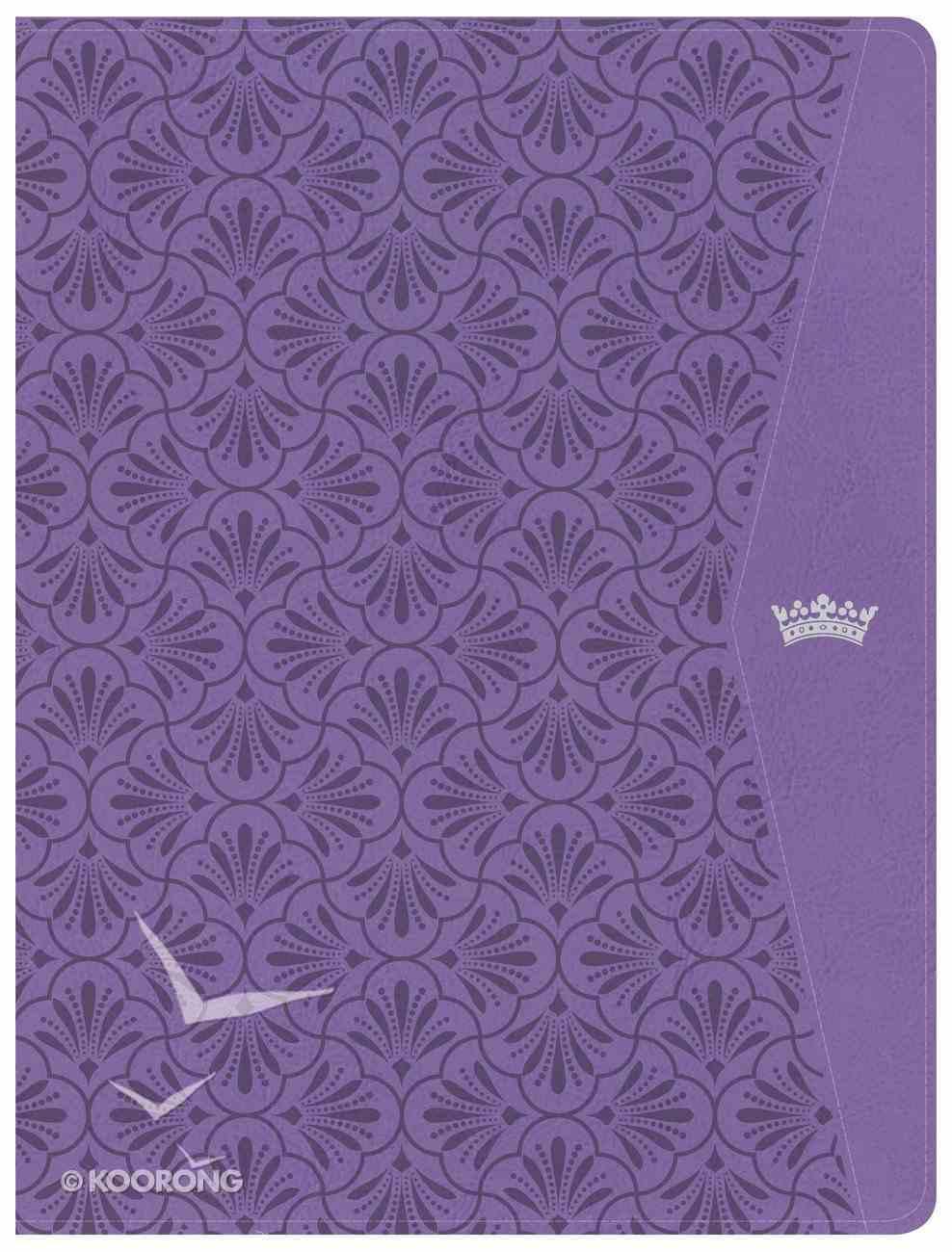CSB Tony Evans Study Bible Purple (Black Letter Edition) Imitation Leather