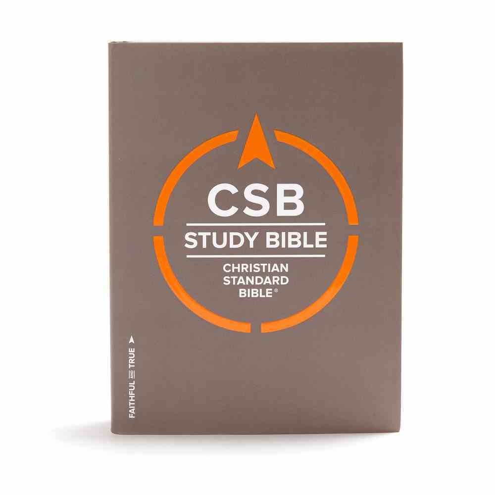 CSB Study Bible Indexed Hardback