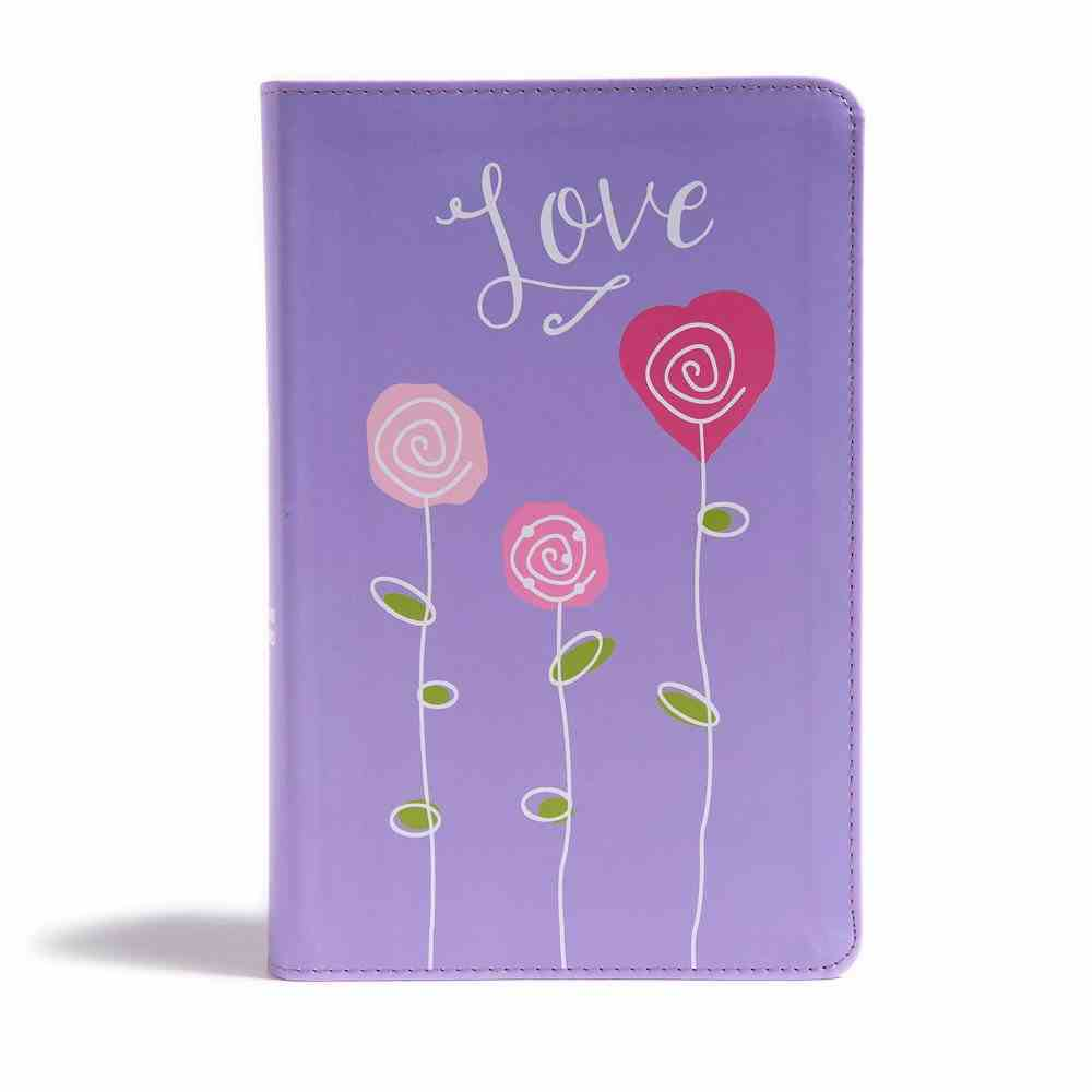 CSB Kids Bible Love Red Letter Edition Imitation Leather