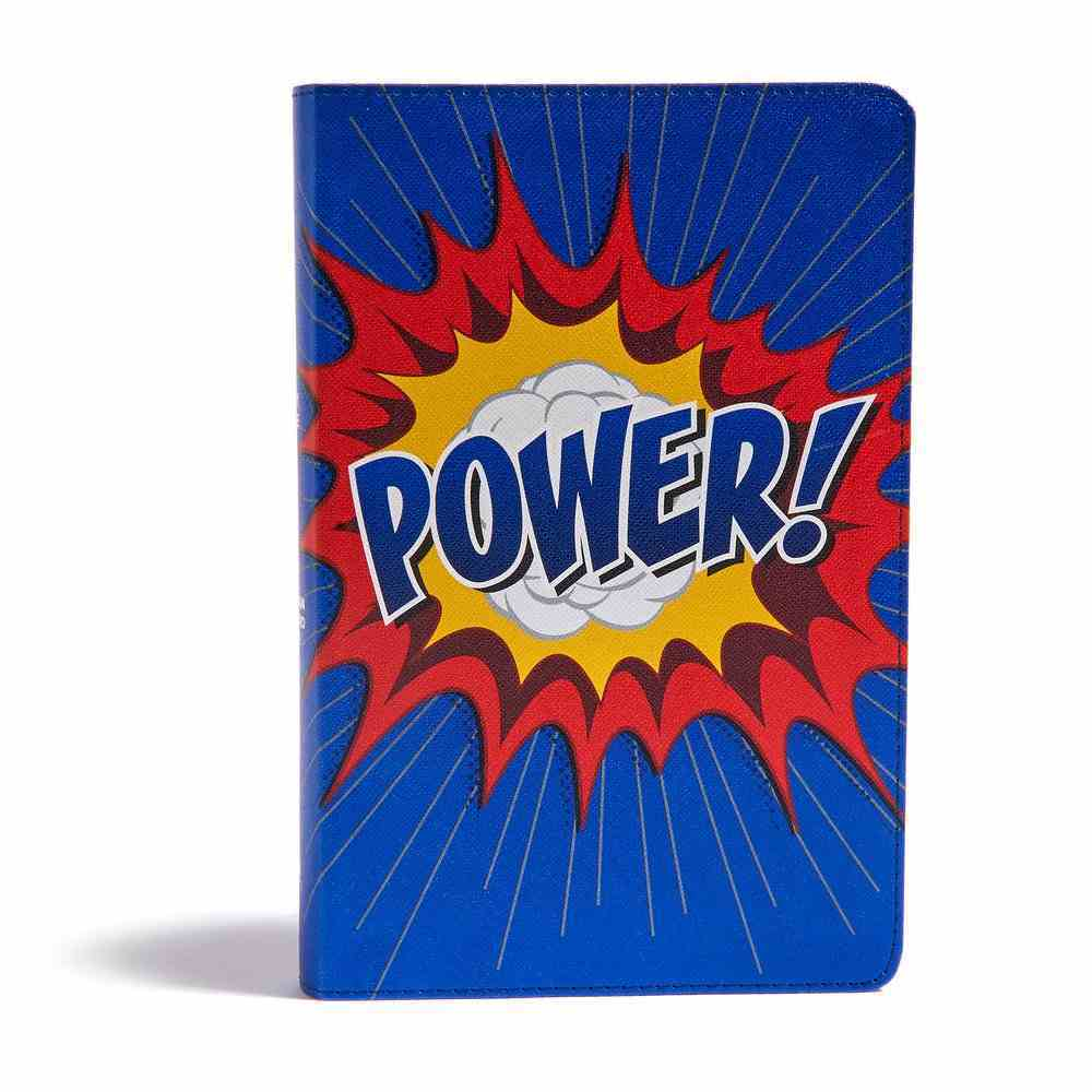 CSB Kids Bible Power Red Letter Edition Imitation Leather