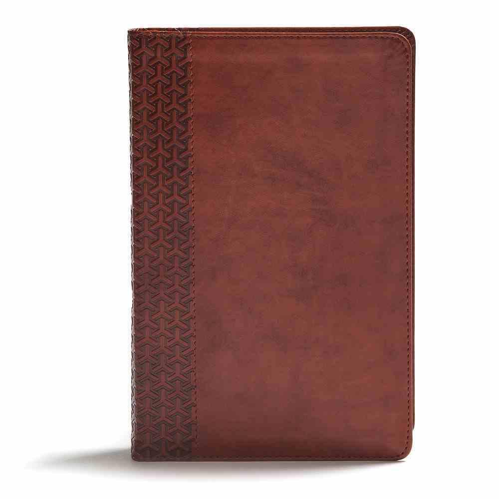 CSB Everyday Study Bible British Tan Imitation Leather