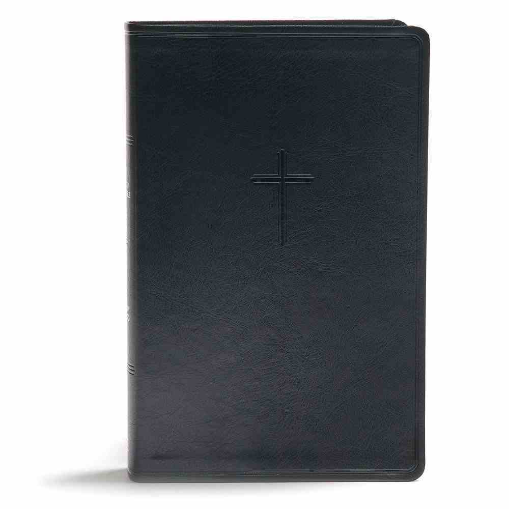 CSB Everyday Study Bible Charcoal Imitation Leather