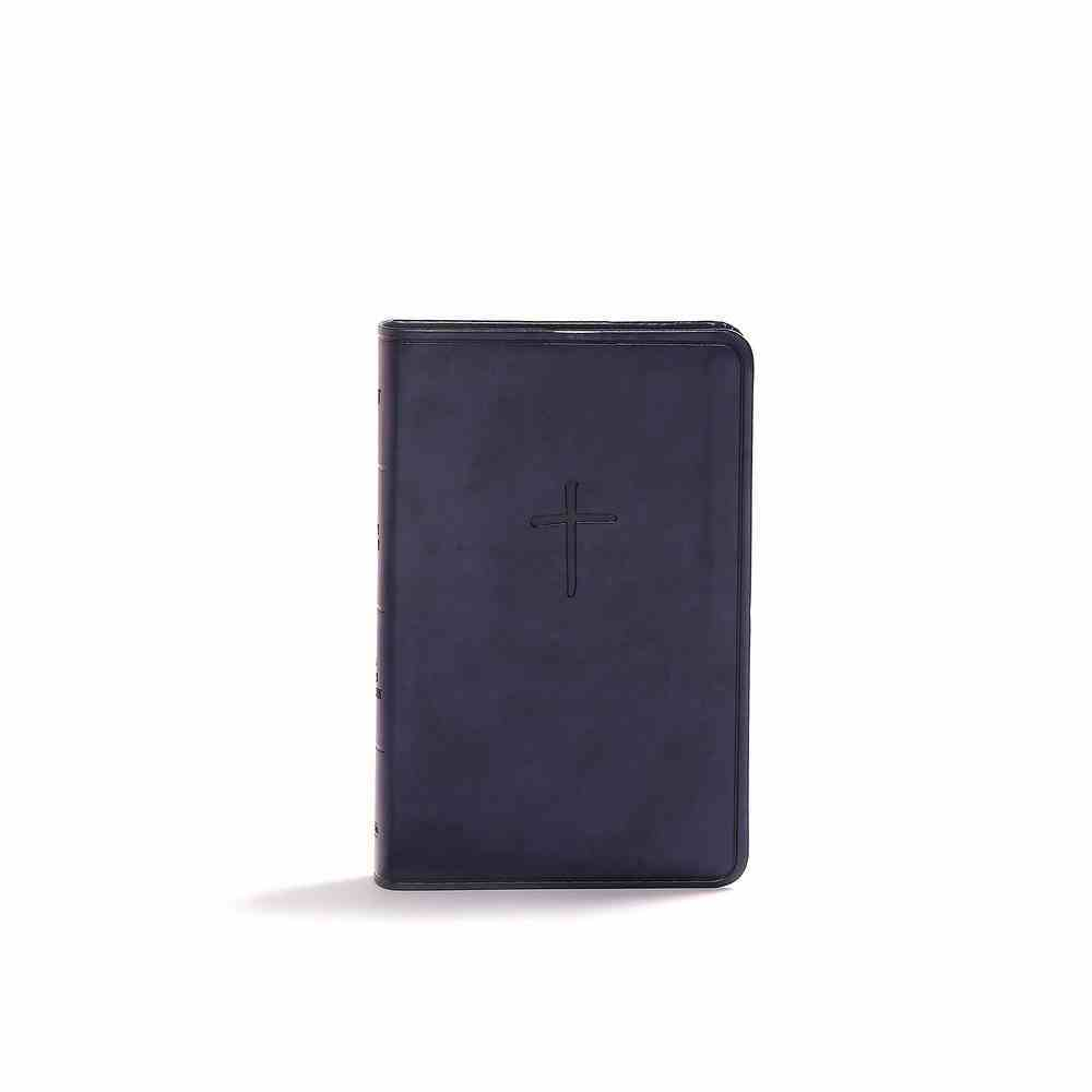CSB Compact Bible Navy Value Edition (Red Letter Edition) Imitation Leather