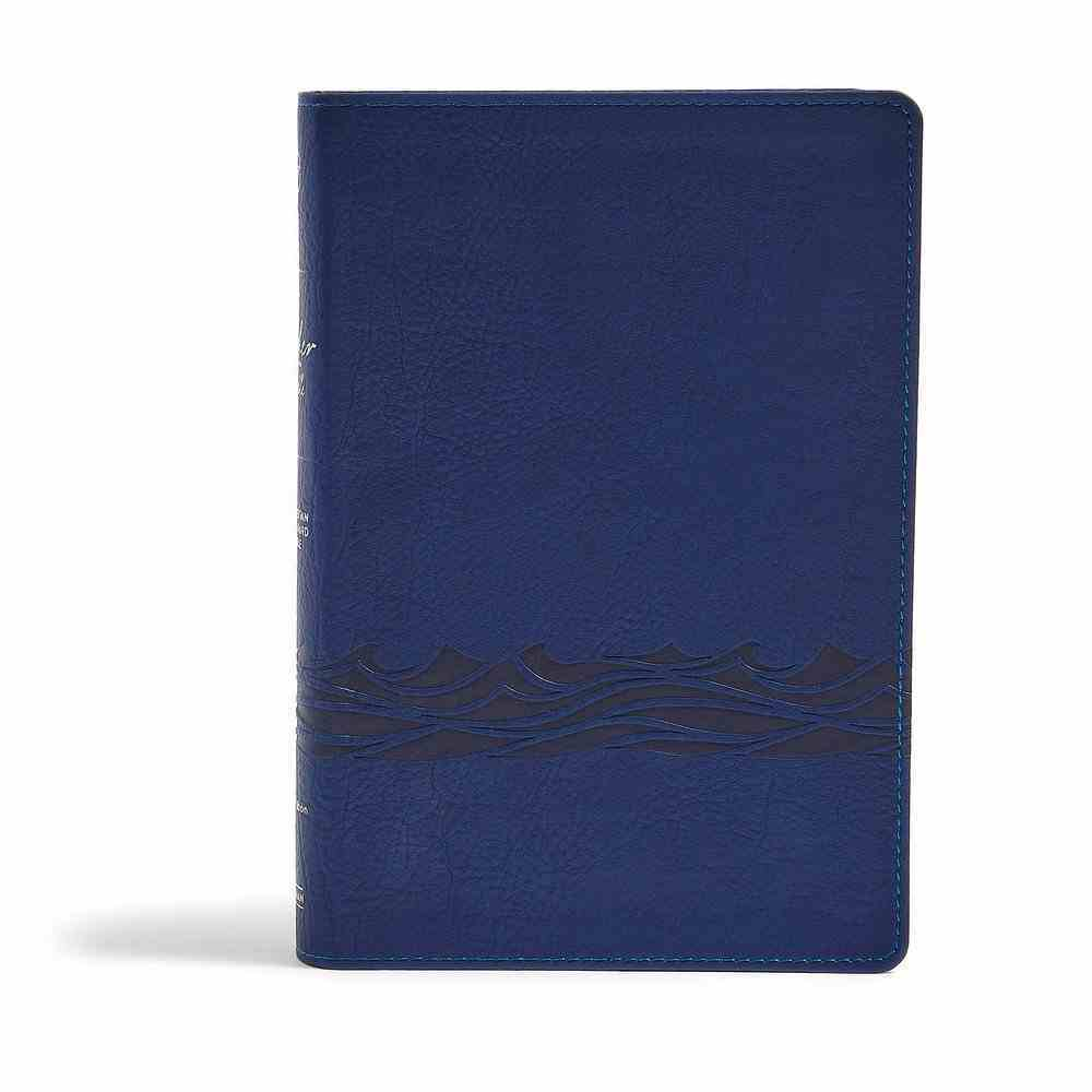 CSB Fisher of Men Bible Navy Imitation Leather