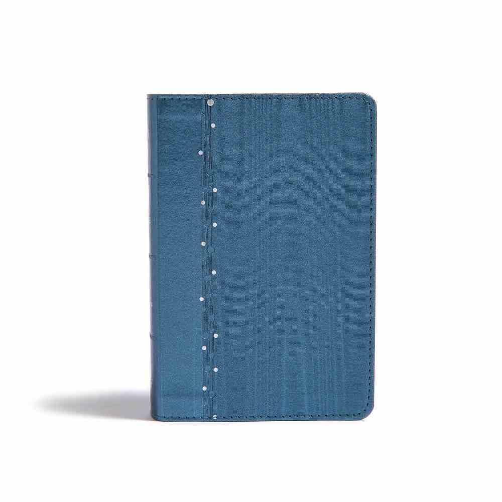 KJV On-The-Go Bible Slate Blue (Red Letter Edition) Imitation Leather