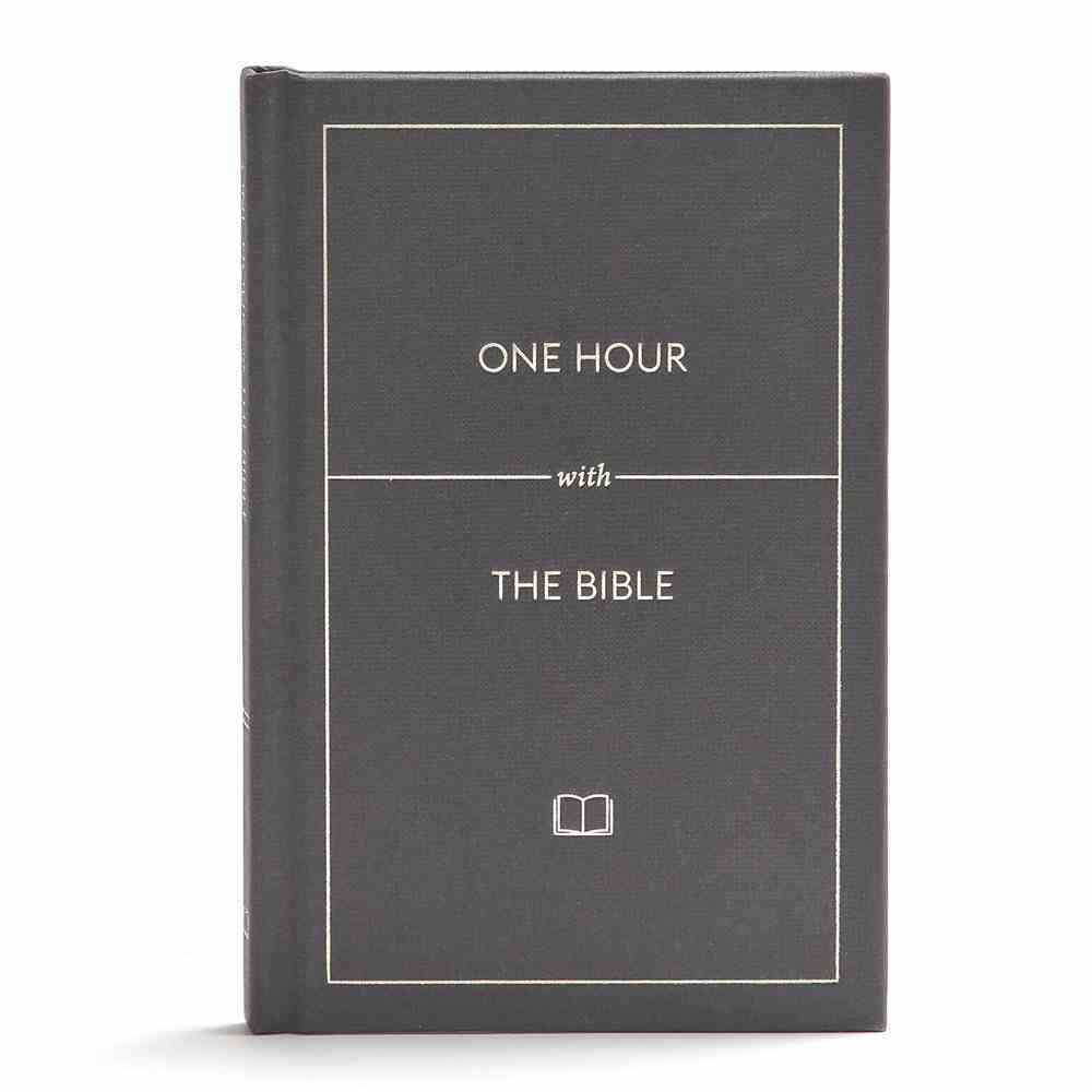 One Hour With the Bible (Black Letter Edition) (366 One Minute Readings) Hardback