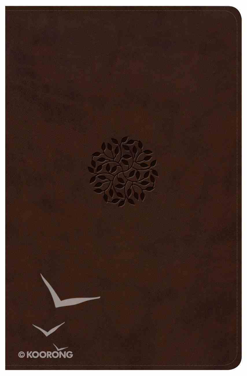 Csb/Kjv Psalms of the Bible Brown (Black Letter Edition) Imitation Leather