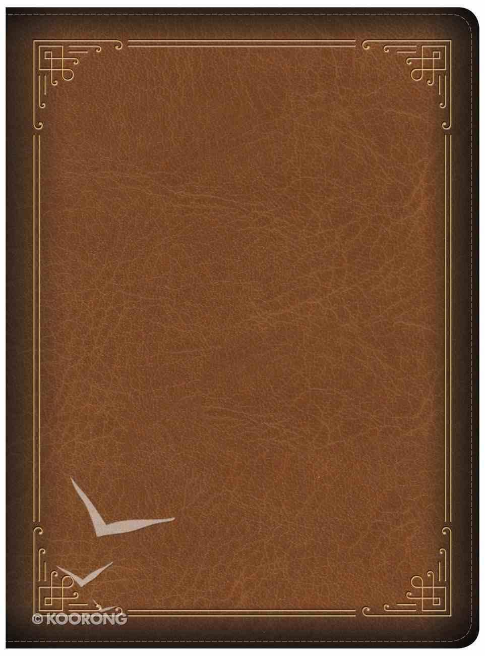 CSB Ancient Faith Study Bible Tan Indexed (Black Letter Edition) Imitation Leather