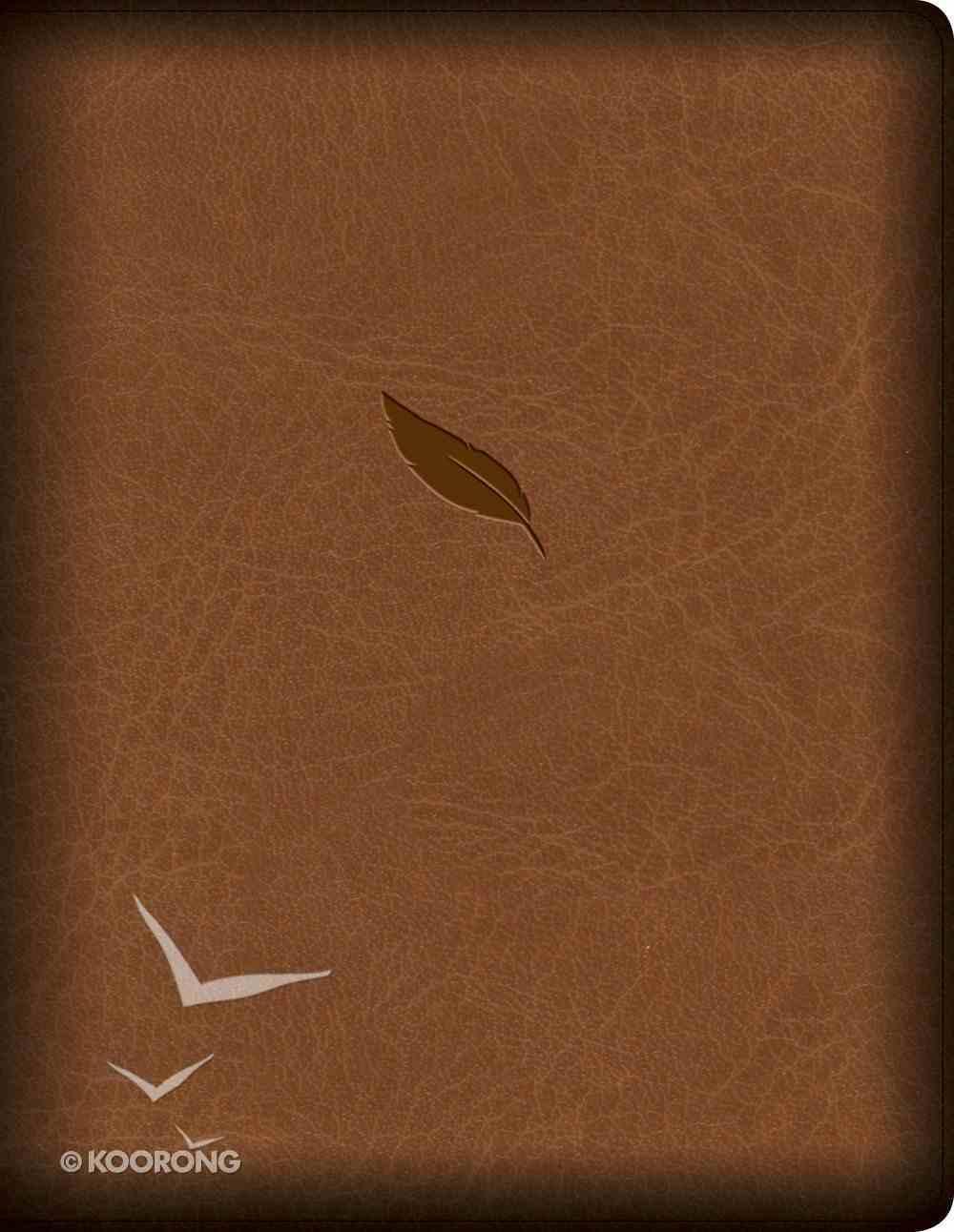 CSB Legacy Notetaking Bible Tan (Black Letter Edition) Imitation Leather