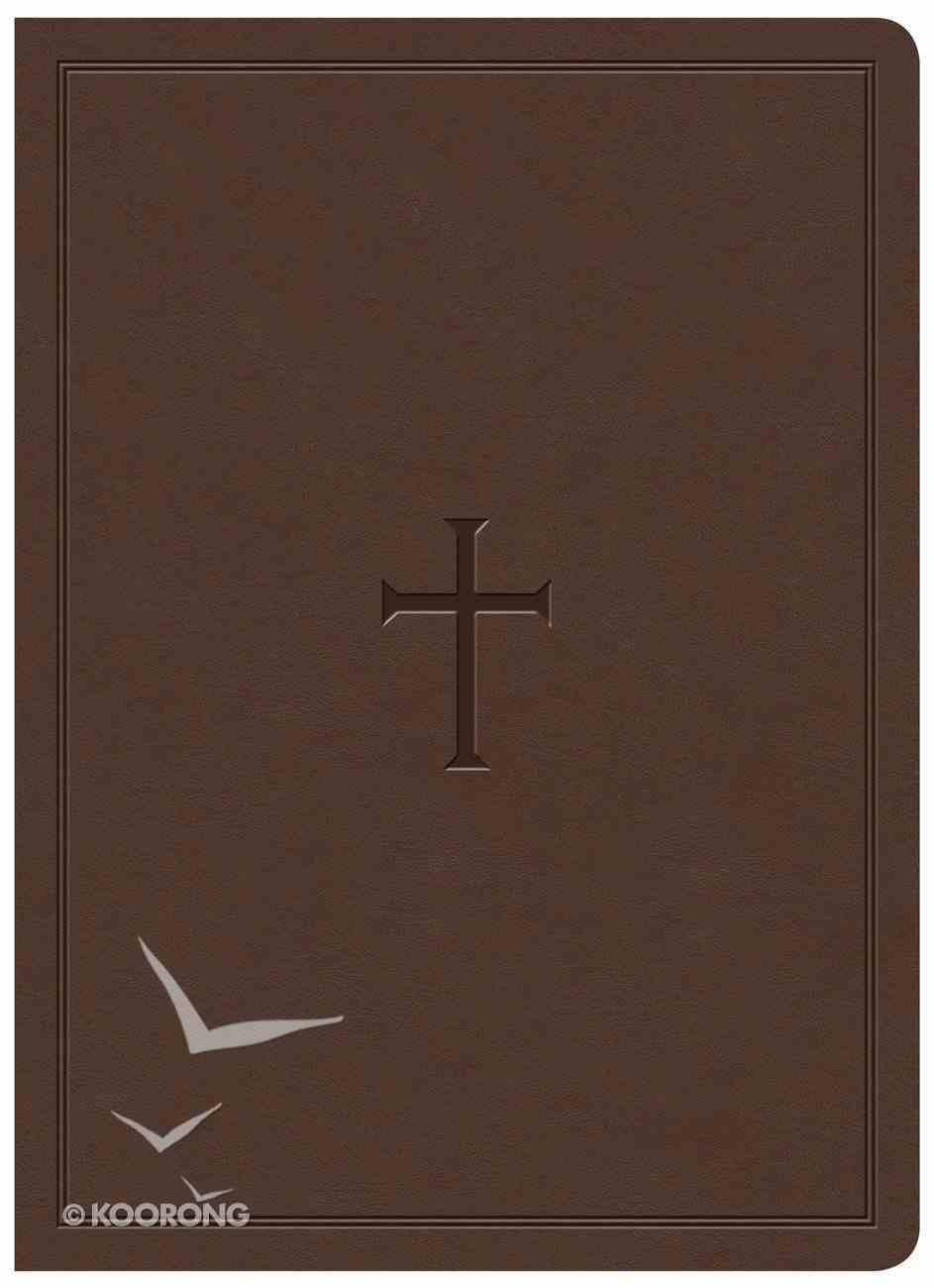 KJV Study Bible Brown Indexed (Red Letter Edition) Imitation Leather