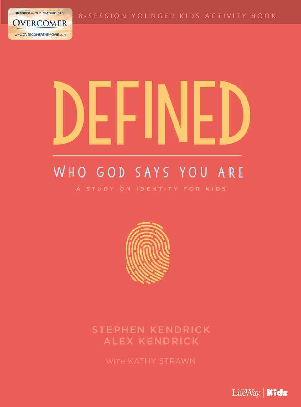 Defined: Who God Says You Are - Younger Kids Activity Pages Paperback