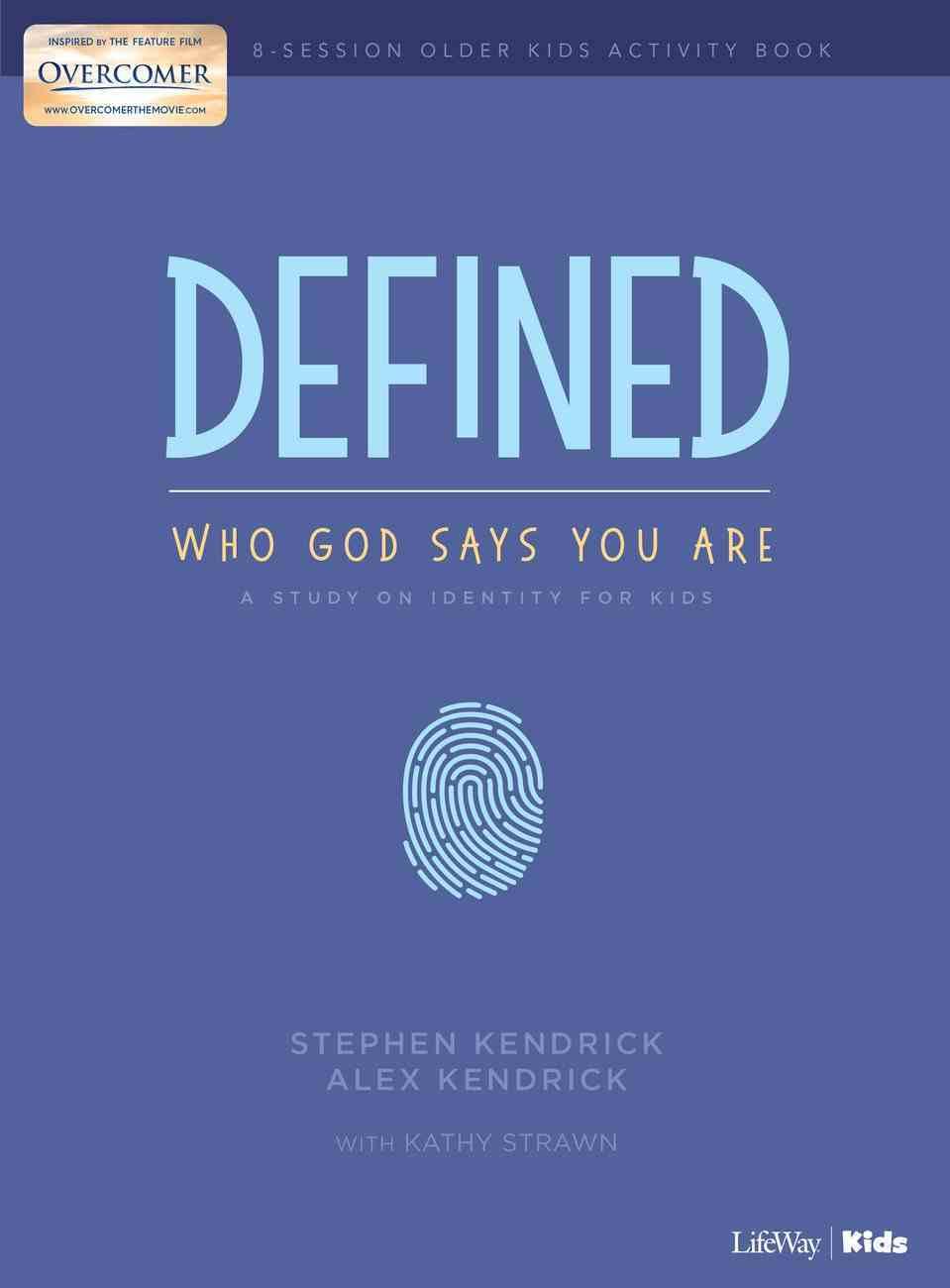 Defined: Who God Says You Are - Older Kids Activity Workbook Paperback