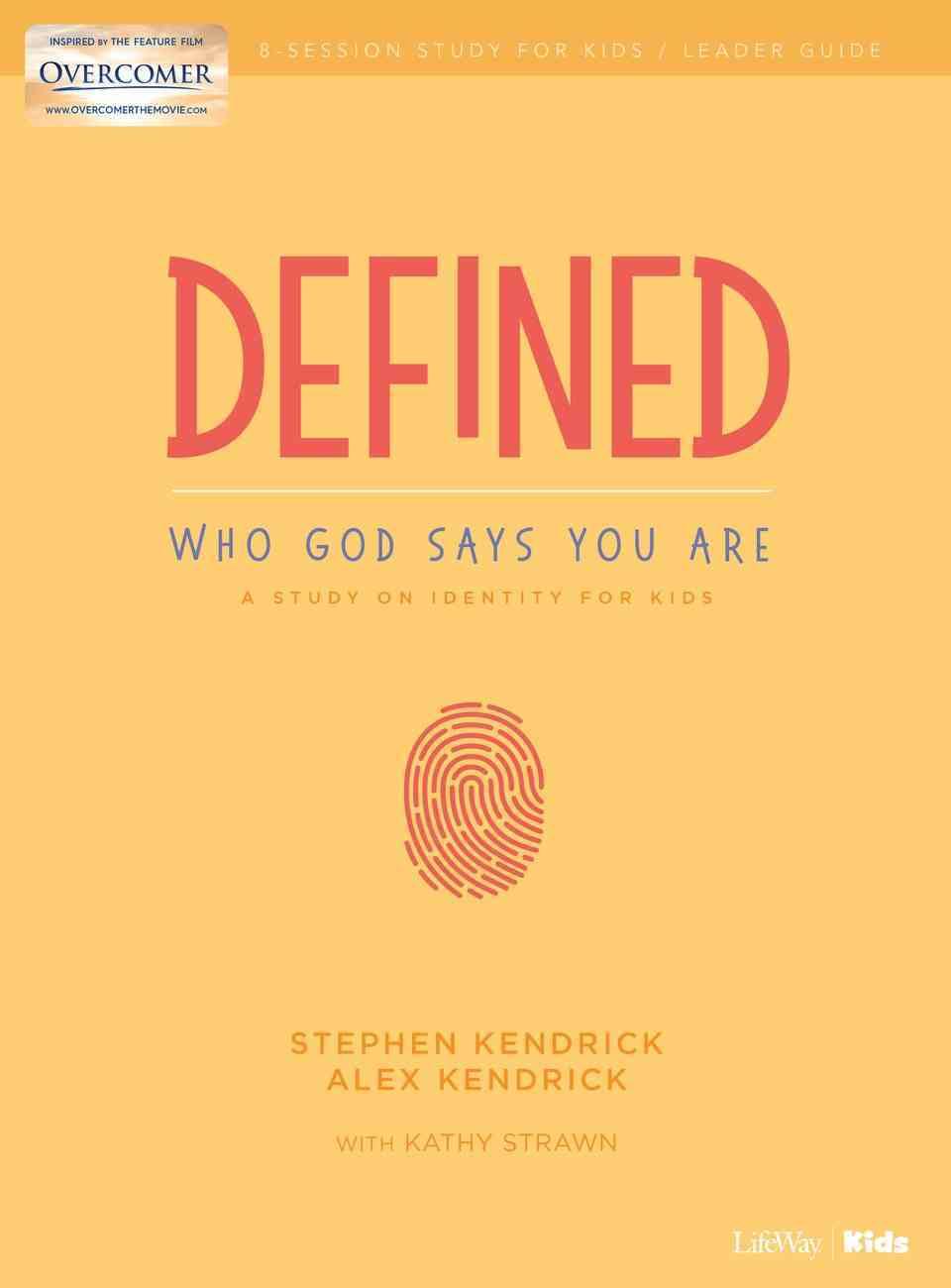 Defined Bible Study For Kids (Leader Guide) Paperback