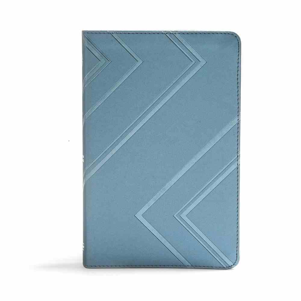 CSB I'm a Christian -Now What? Bible For Kids Blue Imitation Leather