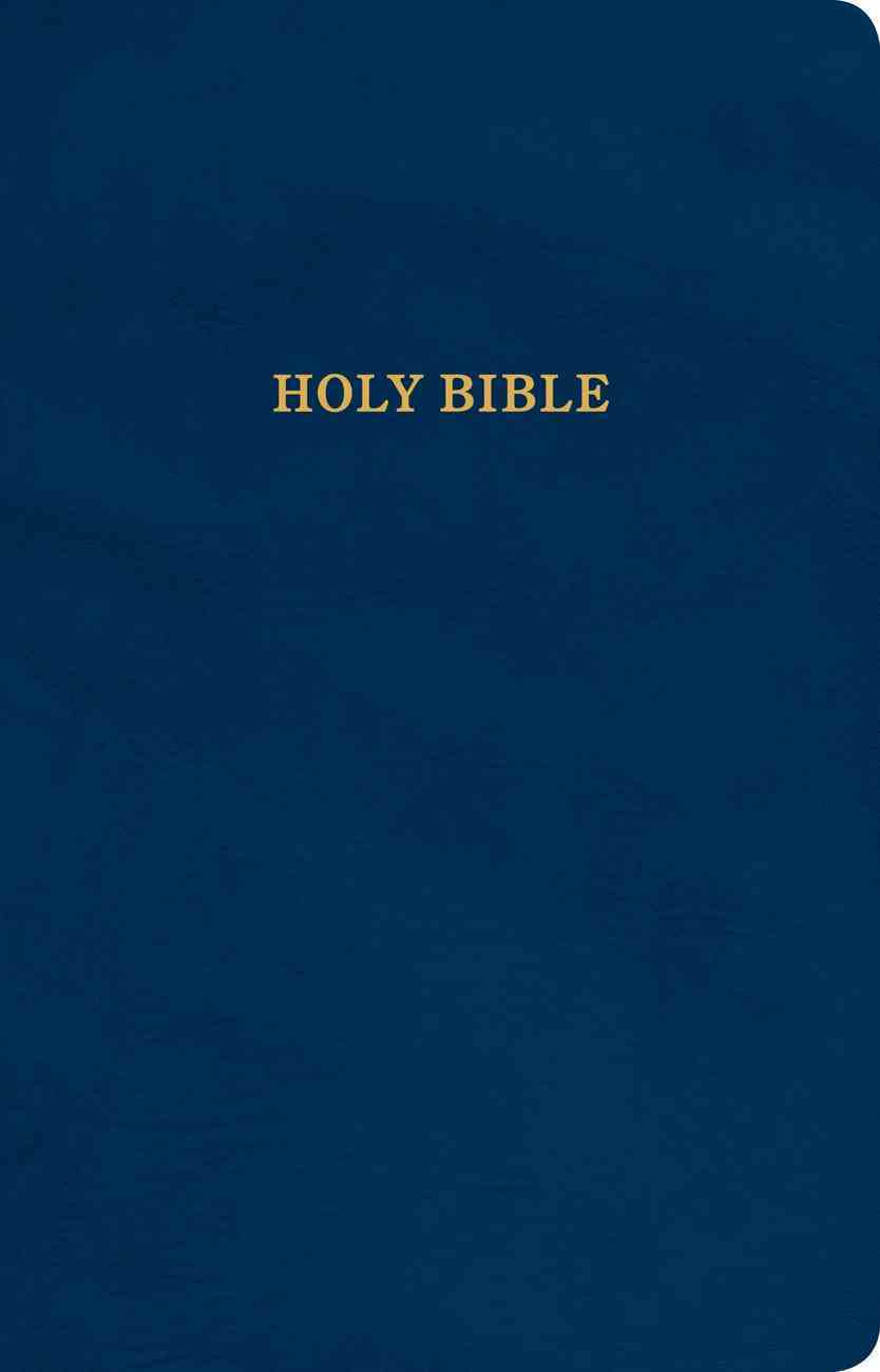 KJV Gift and Award Bible Blue (Red Letter Edition) Imitation Leather