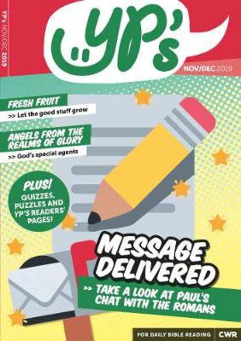 EDWJ: Yp's 2019 #06: Nov-Dec (Ages 11-14) Magazine