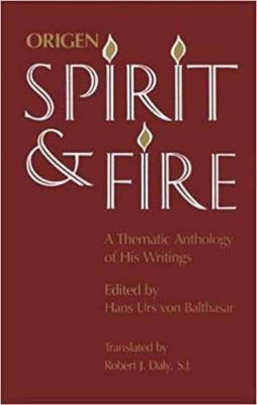Spirit and Fire Paperback