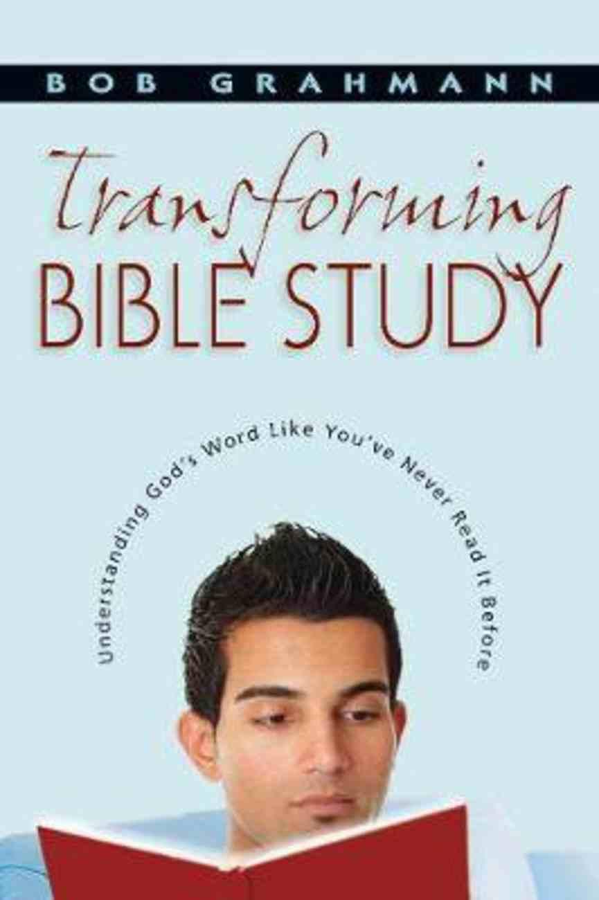 Transforming Bible Study Paperback