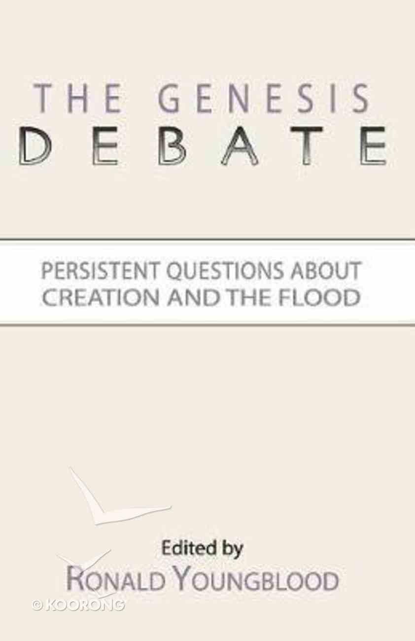 The Genesis Debate Paperback