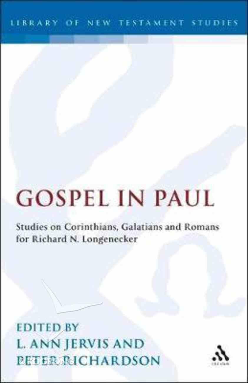 Gospel in Paul Hardback
