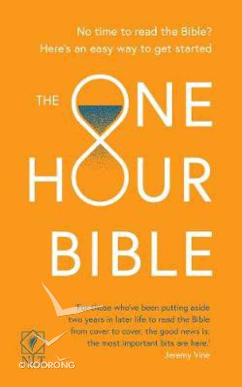 NLT One Hour Bible, the Anglicised Edition: From Adam to Apocalypse in Sixty Minutes Paperback