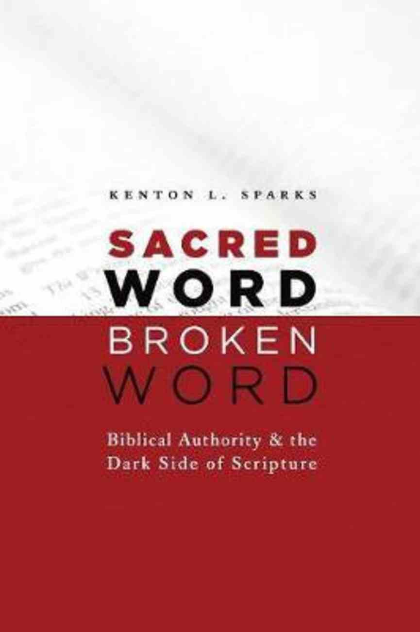 Sacred Word, Broken Word Paperback