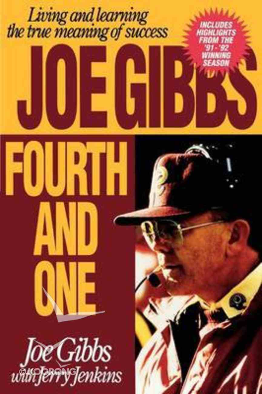 Fourth and One Paperback